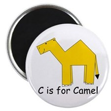 C is for Camel Magnet