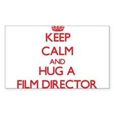 Keep Calm and Hug a Film Director Decal