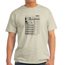 D&D Character Sheet T-Shirt