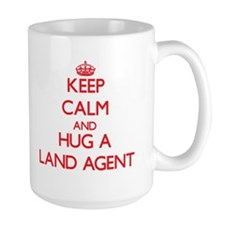 Keep Calm and Hug a Land Agent Mugs