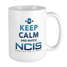 Keep Calm Watch NCIS Mug