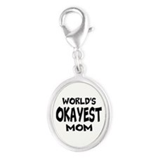 Worlds Okayest Mom Charms