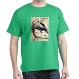 Bufflehead Duck Bird (Front) T-Shirt
