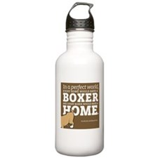 A Home for Every Boxer Water Bottle