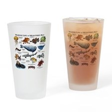 Marine Life of Monterey Bay Drinking Glass
