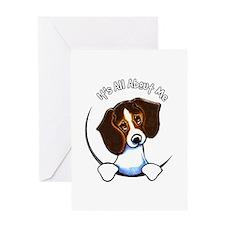 Tricolor Beagle IAAM Greeting Card
