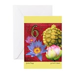 Spiritual Passage Blank Greeting Cards (Pk of 10)