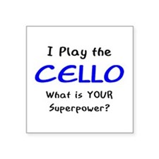play cello Sticker
