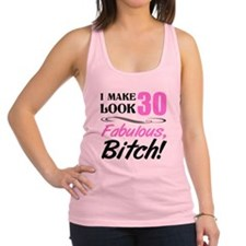 Fabulous Attitude 30th Birthday Racerback Tank Top