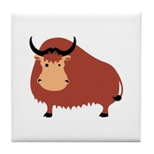 Yak Animal Tile Coaster