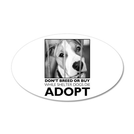 Adopt Puppy Wall Decal
