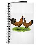 Gold Brabanter Chickens Journal