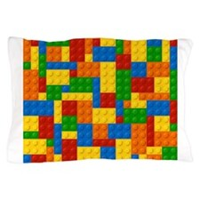Toy Building Blocks Pillow Case