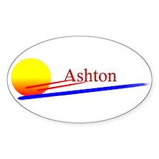 Ashton Oval Decal