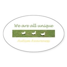 ducks Oval Decal