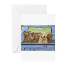 """""""Truckload of Chessies"""" Note Cards (Pk of 10) Gree"""