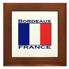 Bordeaux, France Framed Tile