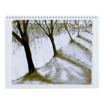 ODD MAN OUT: Artist J.M. Wall Calendar