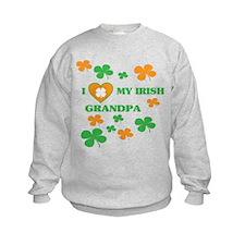 I Love My Irish Grandpa Sweatshirt