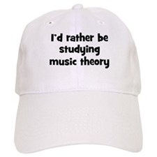 Study music theory Baseball Cap