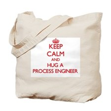 Keep Calm and Hug a Process Engineer Tote Bag