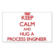 Keep Calm and Hug a Process Engineer Decal
