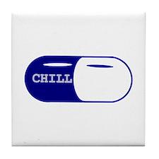 Chill Pill Tile Coaster