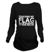 Colorguard Hazard Long Sleeve Maternity T-Shirt