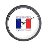 Aix-en-Provence, France Wall Clock