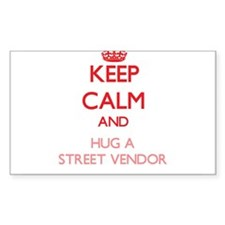 Keep Calm and Hug a Street Vendor Decal