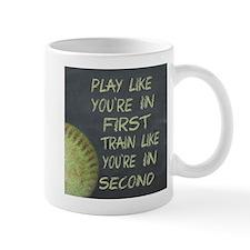 In First Fastpitch Softball Motivational Mugs