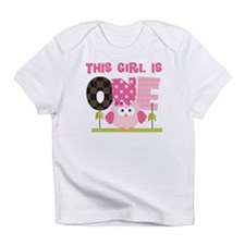 Owl 1st Birthday Infant T-Shirt