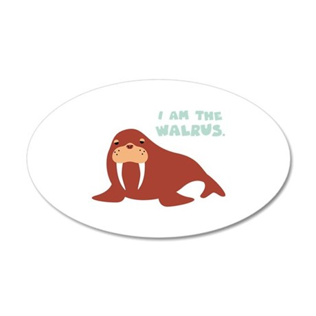 I Am The Walrus Wall Decal