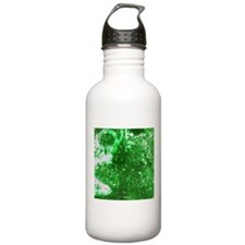 Green rusted surface texture Water Bottle