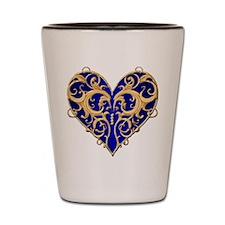 Valentine Heart Shot Glass