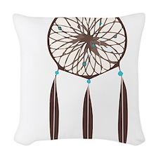 Dreamcatcher Woven Throw Pillow