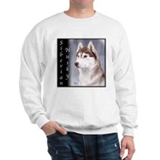 Siberian Husky Red Sweatshirt