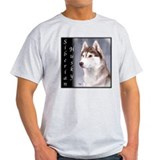 Siberian Husky Red T-Shirt