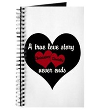 Personalize True Love Story Journal