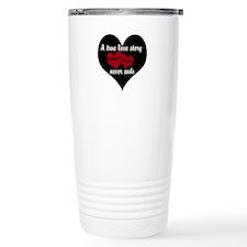 Personalize True Love Story Travel Mug