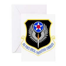 Special Operations Comma Greeting Cards (Pk of 10)