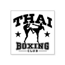 Thai Boxing Sticker