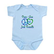 Peace Love Jack Russells Onesie