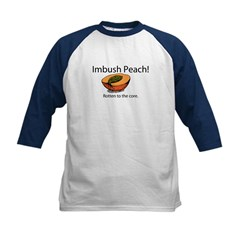 Imbush That Rotten Peach Kids Baseball Jersey