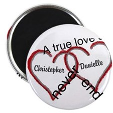 """A True Love Story: Personal 2.25"""" Magnet (10 Pack)"""