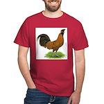 Gold Brabanter Rooster Dark T-Shirt