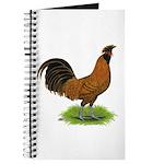 Gold Brabanter Rooster Journal