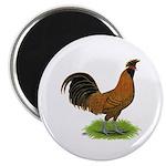Gold Brabanter Rooster Magnet