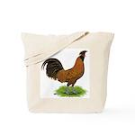 Gold Brabanter Rooster Tote Bag