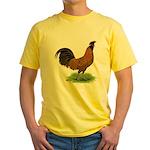 Gold Brabanter Rooster Yellow T-Shirt